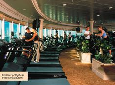 """Stay in Ship Shape onboard - one of the BEST Ocean Gyms and Spas I've """"EVER"""" been in..."""