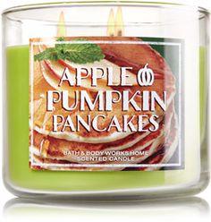 Apple Pumpkin Pancakes 3-Wick Candle - Home Fragrance 1037181 - Bath & Body Works