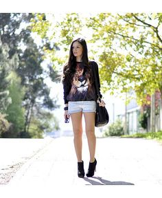 ab0bf29892c Spring outfit ideas  21 easy to copy looks for Spring 2013. Summer Wear