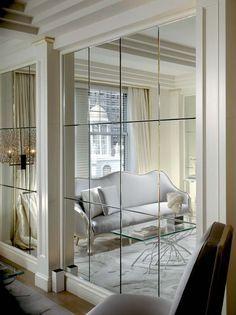 Wall Art Luxury Idea Wall Mirror Panels With Black Stair Charming Ideas Wall Mirror Panels Mirror Wall Living Room Mirror Wall Luxury House Interior Design