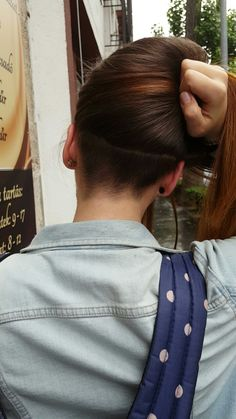 My undercut nape                                                                                                                                                       More