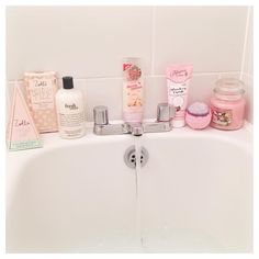 """Karen on Instagram: """"cute bubble bath to cheer myself up when i'm full of…"""
