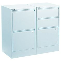 The Container Store > Light Blue Bisley® File Cabinets