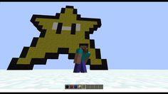 Minecraft Pixel Art | Cum sa faci o stea