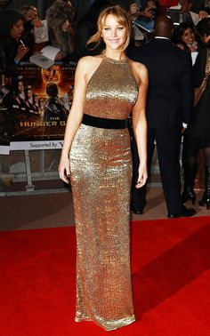 10 Times Jennifer Lawrence Killed It on the Hunger Games Red Carpet via @WhoWhatWear