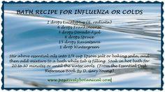 Young Living Essential Oils: Bath Recipe for a Cold Young Living www.youngliving.com Jill Klasen # 1276056 Jilljklasen@gmail... Facebook: The Oil Shop