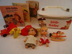 Liddle Kiddles Bunson Burnie Calamity Jiddle Doll Original Mattel Booklet Case #ClothingAccessories