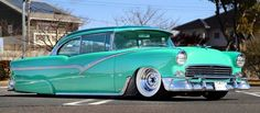 In Japan, Lost In The Shinobu Furutani's 1955 Chevrolet Bel AirShinobu Furutani's 1955 Chevrolet Bel Air 1955 Chevrolet, Chevrolet Bel Air, Vintage Cars, Antique Cars, 1955 Chevy Bel Air, Kustom, Custom Cars, Muscle Cars, Cool Cars