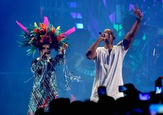 """Pin for Later: The Best Moments From the 2015 Latin Grammy Awards The Even Better Fact That Will Smith Performed His Comeback Song """"Fiesta"""" With Bomba Estéreo"""