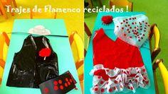 Trajes de Flamenca reciclados para vestirte en la Feria de Abril casera: http://www.manualidadesinfantiles.org/trajes-de-flamenca-reciclados