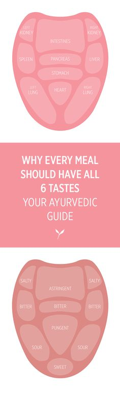 Why Every Meal Should Have All 6 Tastes Ayurveda Dosha, Pitta Dosha, Ayurvedic Healing, Ayurvedic Recipes, Sour Foods, Digestion Process, Heartburn, Health Education, Health