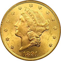 1891 S $20 Liberty Gold Twenty Dollar MS63 PCGS ** Be sure to check out this awesome product.
