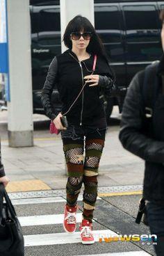 2NE1 Park Bom heads to Shanghai