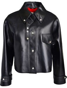 Chrismo Main lether jacket from Acne at youheshe.com
