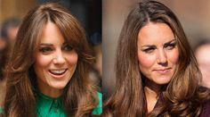 Kate Middleton Gets Bangs, Dresses like Princess Diana