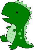 Scrapcation Getaway: Cute T-Rex SVG