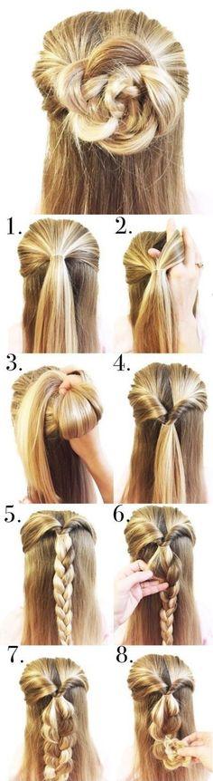 Peinados con trenzas ✿ ❁ para todos los estilos de cabello ❁ ✿ y con muchas variantes distintas, no dejes de ver esta genial galería con sus tutoriales.