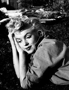 Marilyn Monroe. Photo by Ted Baron, 1954.