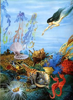 Tony Wolf's illustration