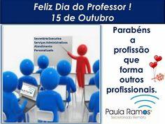 Bom dia! Este é o post do dia! Muito obrigada aos professores que me formaram em Relações Internacionais, Letras, Cursos de Secretariado, Cursos de Línguas e os de educação física.GRATIDÃO! RESPEITO! ACESSEhttp://www.paulasecretariadoremoto.com/