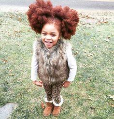 """luvyourmane: """" ❤ @redlilmissy #luvyourmane #blackisbeautiful #naturalhair """""""