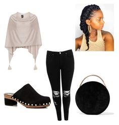 """""""Untitled #3"""" by keshawna-primer on Polyvore featuring Samoon, Boohoo, Proenza Schouler, Eddie Borgo and MinnieStyles"""