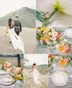 trending outdoor weddings ideas at mountain side or high lands