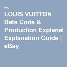 louis vuitton date code guide