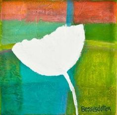 """Polar Tulip"" x by bessesdotter Tulips, Paintings, Studio, Flowers, Art, Art Background, Painting Art, Tulip, Painting"