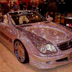 Dream car! Sparkles and convertible...PERFECT!