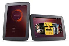 Ubuntu Linux tablet.