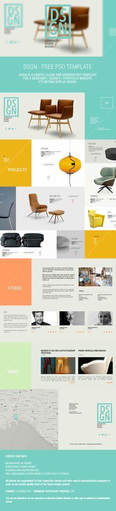 free photoshop templates that aren't terrible // psd for web design Design Sites, Site Design, App Design, Studio Design, Website Layout, Web Layout, Layout Design, Interface Web, Interface Design