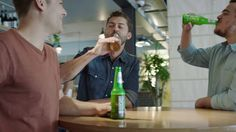 DB Export Beer Bottle Sand - BRONZE LION || PROMO & ACTIVATION