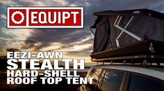 Eezi-Awn Stealth Hard Shell Roof Top Tent - YouTube