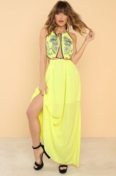 Pull It Together Dress - Yellow Fashion Heels, Yellow Dress, Fashion Forward, Summer Dresses, Clothes For Women, Style, In Trend, Outerwear Women, Swag