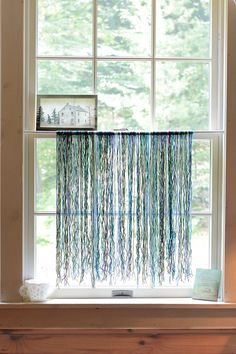 DIY - Yarn Curtain