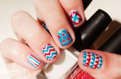 Little Nails like the chevron