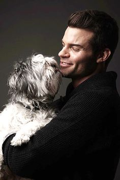 Daniel Gillies → BTS pic from the Matthew Lyn photoshoot