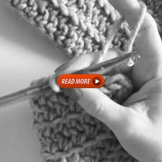 """I'm making one small adjustment to a regular half double crochet to make this """"rope look"""" stretch across the blanket I am designing. Instead of working into the top of the stitch, I am inserting my hook up the side of the stitch to make this modified half double crochet stitch. Filet Crochet, Easy Crochet, Crochet Hooks, Afghan Crochet Patterns, Crochet Stitches, Popular Crochet, Crochet Magazine, Crochet Instructions, Crochet For Beginners"""