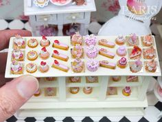 *15 Brand New Individual Pastries - All Pink*