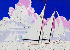 "Andy Warhol's ""Do It Yourself (Sailboats),"" from 1962"