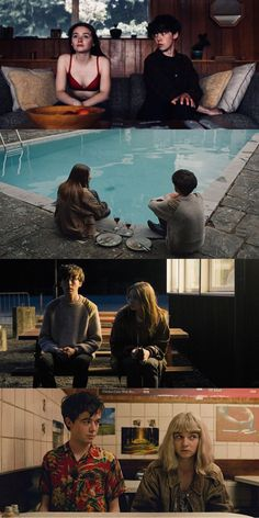 The End of the F***ing World staring Jessica Barden and Alex Lawther Netflix Series, Series Movies, Tv Series, End Of The World, My World, Ing Words, Jessica Barden, Foto Top, Best Series