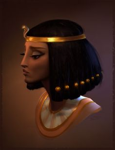 Cleopatra by Petra Varga Cleopatra, Female Character Design, Character Art, How To Draw Hair, Character Illustration, Black Art, Female Characters, Character Inspiration, Fantasy Art