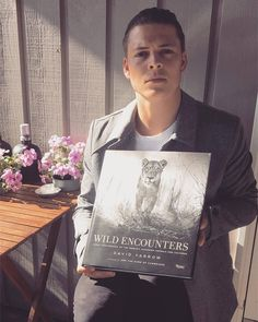 """I want to introduce you to one of my favourite books: """"Wild Encounters"""" by the incredible photographer and person 💪🏻 David Yarrow is a master at capturing the beauty of the Earth's remote landscapes and. Heath Ledger, Ivar Ragnarsson, David Yarrow, Sons Of Ragnar, Vikings Show, Danish Men, Ivar The Boneless, Alex Hogh Andersen, Viking S"""