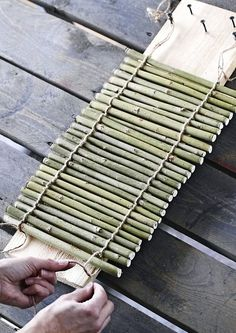 1 million+ Stunning Free Images to Use Anywhere Twig Crafts, Bamboo Crafts, Diy Home Crafts, Nature Crafts, Wood Crafts, Diy Home Decor, Diy Para A Casa, Jardin Decor, Bamboo Trellis