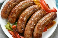 Best Air Fryer Brats - Curbing Carbs Air Fryer Dinner Recipes, Air Fryer Recipes Easy, Wrap Recipes, Snack Recipes, Ninja Recipes, Cooking Recipes, Snacks, Fried Macaroni And Cheese