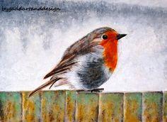 Robin by ByGaddArtandDesign on Etsy