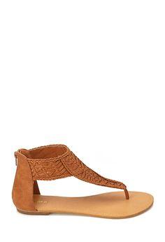 Tiki Room Braided Sandals   FOREVER21 - 2000124309
