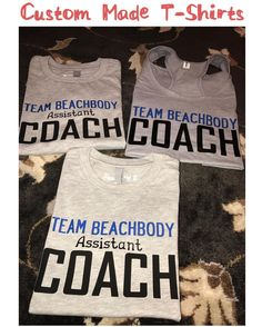 Custom Made Family T-Shirts  #teambeachbody #beachbody #beachbodycoach #shakeology #coach #personaltraining #weightloss #cynthiascraftsinvirginia #etsy #amazon #woodbridge #shoplocal #tshirts #teambeachbodyassistantcoach