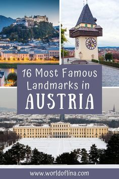 16 of the best and most famous landmarks in Austria. Culturally and historically important places everyone needs to put on their itinerary! #austria #vienna #salzburg #europe | Places to See in Austria | Best Things to do in Austria | Travel to Austria | Austria Itinerary | What to do in Vienna Europe Travel Outfits, Europe Travel Guide, France Travel, Travel Guides, Europe Places, Road Trip Europe, Visit Austria, Austria Travel, Austria Destinations